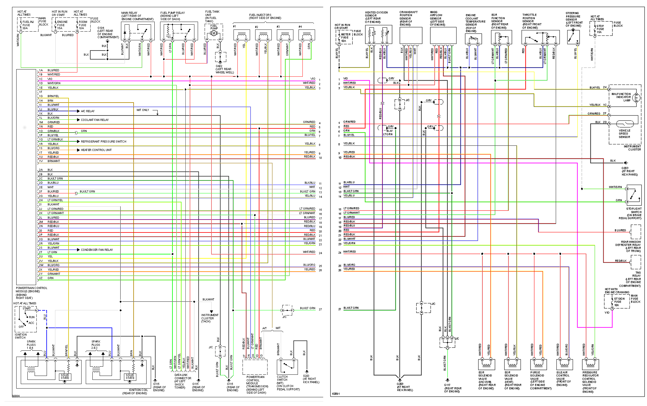 alternator circuit wiring diagram  | 364 x 639