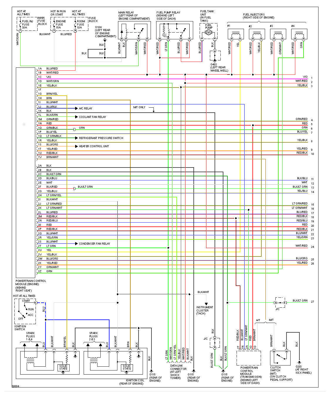 Miata Wiring Harness Diagram Great Design Of On A 1993 Mazda Fuse Box Vehicle 1994 Rusefi 1992 Engine